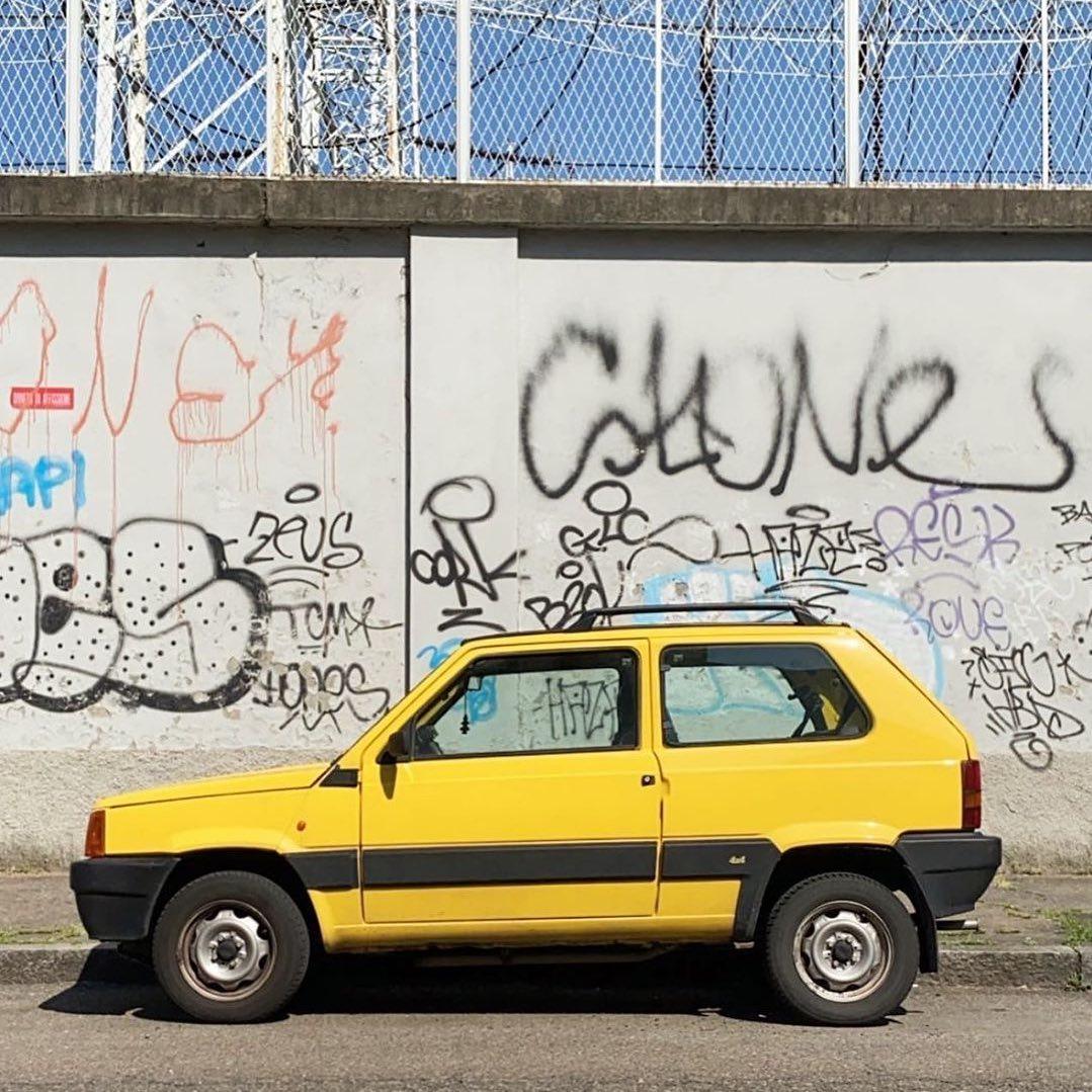 "Fiat Panda 1st gen. 141A restyling ""Supernova"""