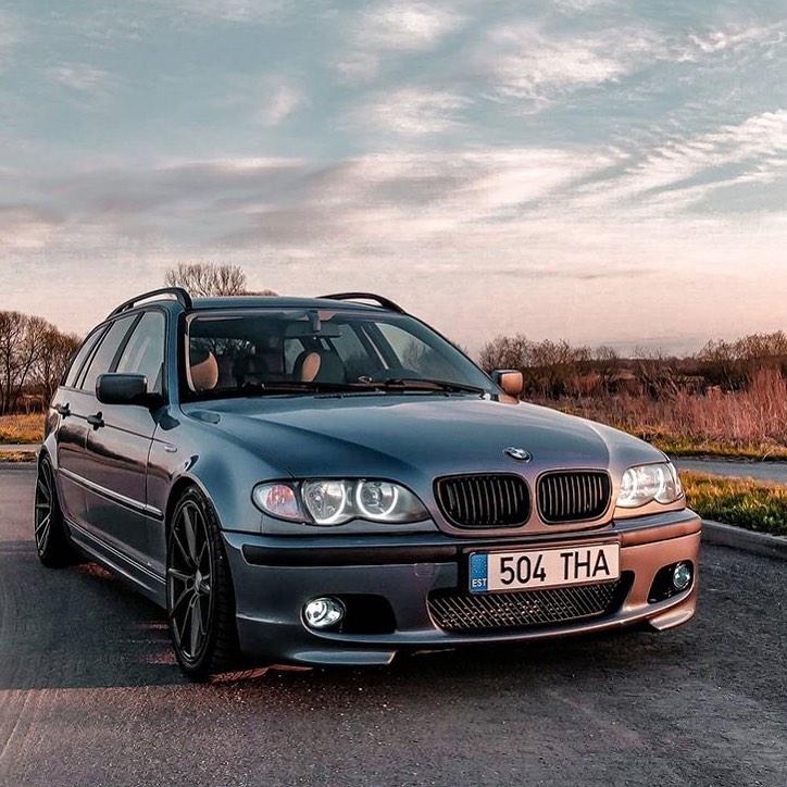 BMW 3 Series 4th gen. E46 facelift 2001