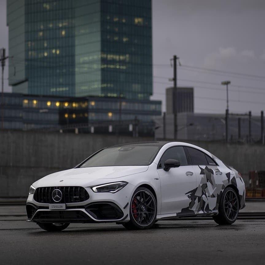 Mercedes-Benz CLA-Class A45 and A45 S AMG 2nd gen.