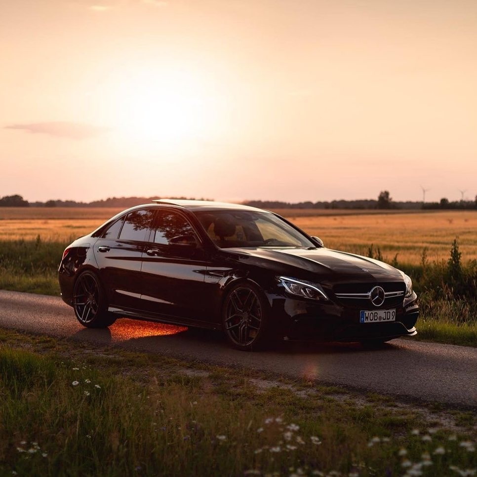 Mercedes-Benz C-Class C63 and C63 S AMG W205