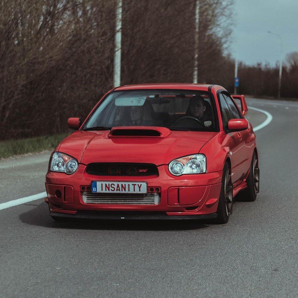 Subaru Impreza 2nd gen.