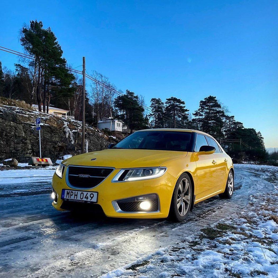 Saab 9-5 2nd gen.